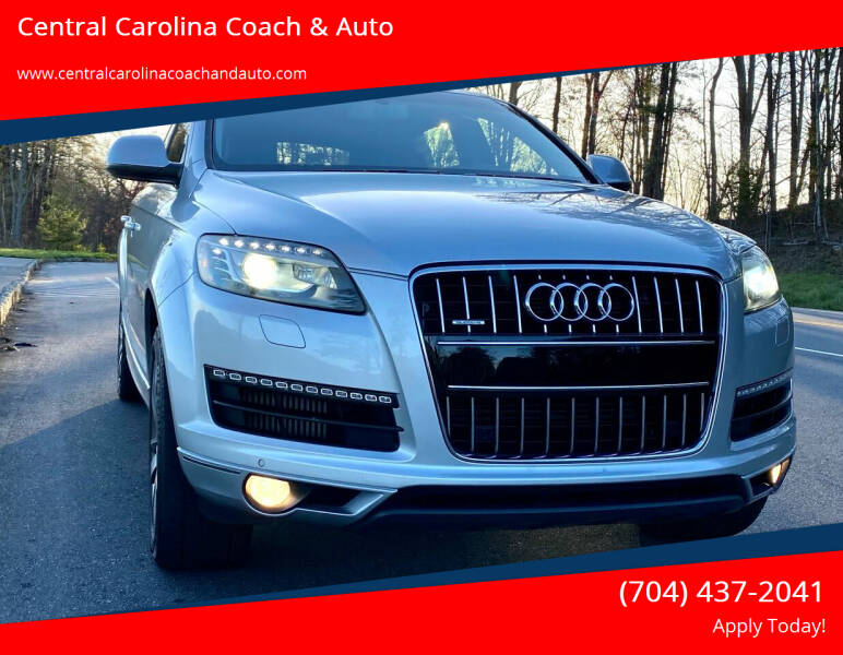 2012 Audi Q7 for sale at Central Carolina Coach & Auto in Lenoir NC