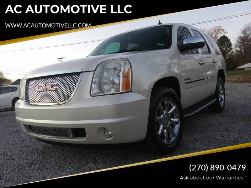 2010 GMC Yukon for sale at AC AUTOMOTIVE LLC in Hopkinsville KY