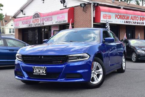 2019 Dodge Charger for sale at Foreign Auto Imports in Irvington NJ