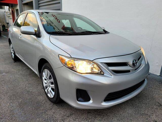 2012 Toyota Corolla for sale at Prado Auto Sales in Miami FL