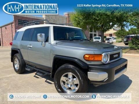 2010 Toyota FJ Cruiser for sale at International Motor Productions in Carrollton TX
