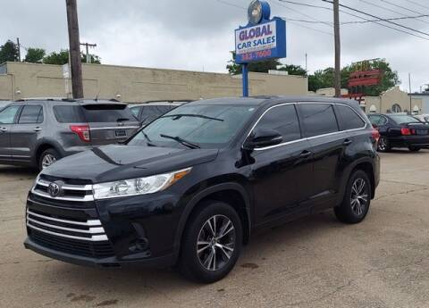 2017 Toyota Highlander for sale at Suzuki of Tulsa - Global car Sales in Tulsa OK