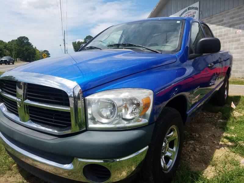 2008 Dodge Ram Pickup 1500 for sale at Arkansas Wholesale Auto Sales in Hot Springs AR