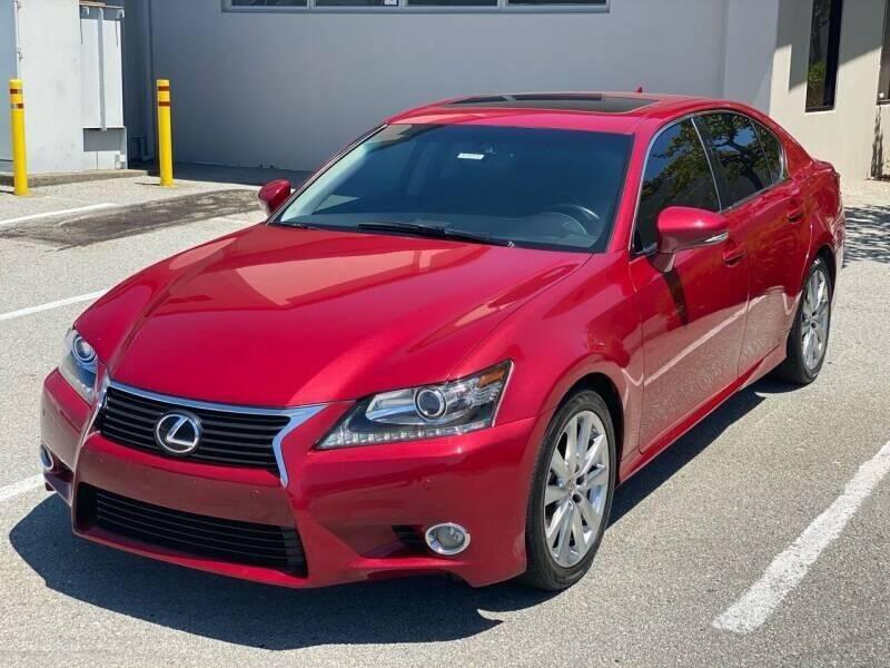 2013 Lexus GS 350 for sale at Conti Auto Sales Inc in Burlingame CA