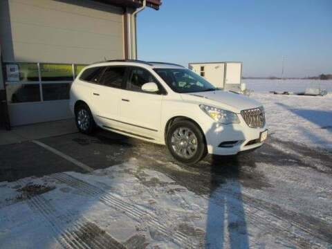 2016 Buick Enclave for sale at Stoufers Auto Sales, Inc in Madison Lake MN