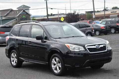 2014 Subaru Forester for sale at Broadway Garage of Columbia County Inc. in Hudson NY