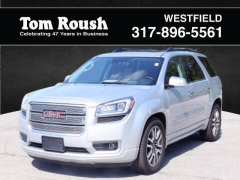 2014 GMC Acadia for sale at Tom Roush Budget Westfield in Westfield IN