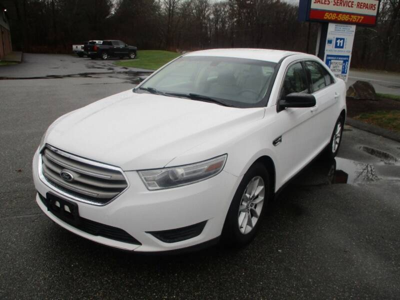 2013 Ford Taurus for sale at Lynch's Auto - Cycle - Truck Center in Brockton MA