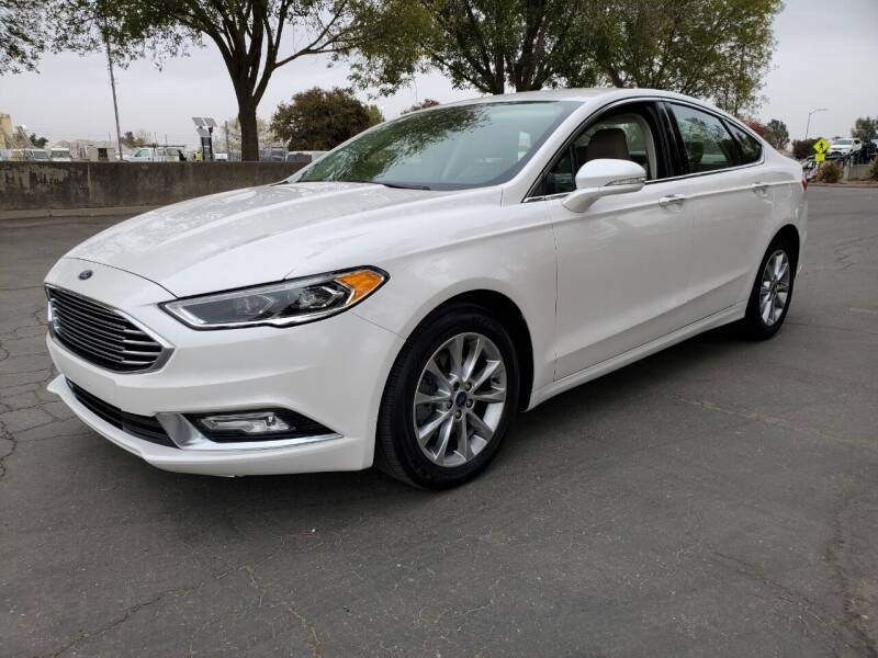 2017 Ford Fusion for sale at Matador Motors in Sacramento CA