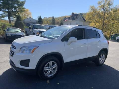 2016 Chevrolet Trax for sale at Premiere Auto Sales in Washington PA