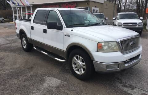2004 Ford F-150 for sale at Townsend Auto Mart in Millington TN
