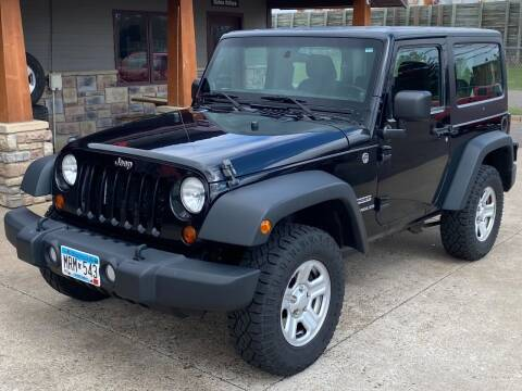 2013 Jeep Wrangler for sale at Affordable Auto Sales in Cambridge MN