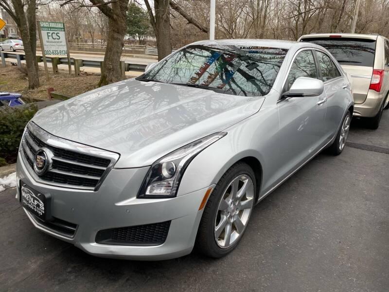2013 Cadillac ATS for sale at WOLF'S ELITE AUTOS in Wilmington DE