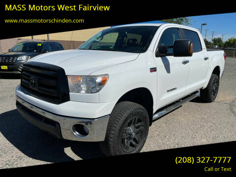 2013 Toyota Tundra for sale at M.A.S.S. Motors - West Fairview in Boise ID