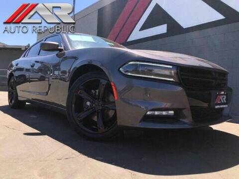 2018 Dodge Charger for sale at Auto Republic Fullerton in Fullerton CA