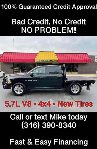 2012 RAM Ram Pickup 1500 for sale at Affordable Mobility Solutions, LLC - Standard Vehicles in Wichita KS