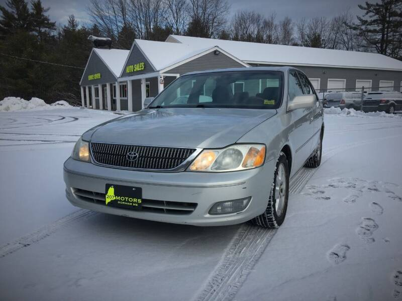 2001 Toyota Avalon for sale at 207 Motors in Gorham ME