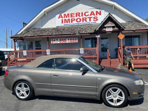 2007 Audi A4 for sale at American Imports INC in Indianapolis IN