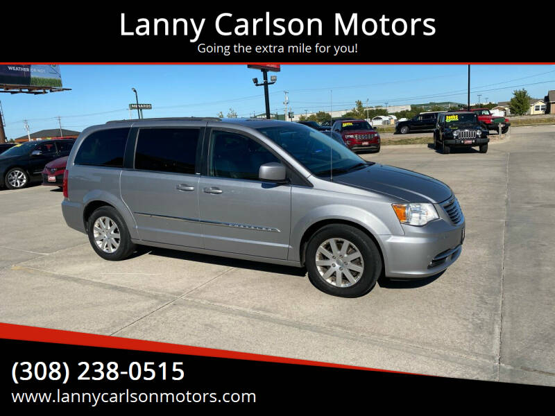 2013 Chrysler Town and Country for sale at Lanny Carlson Motors in Kearney NE