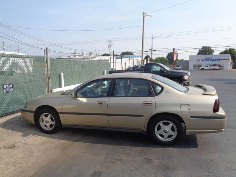 2004 Chevrolet Impala for sale at Cars Unlimited Inc in Lebanon TN