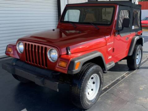 1998 Jeep Wrangler for sale at Tiny Mite Auto Sales in Ocean Springs MS