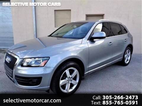 2011 Audi Q5 for sale at Selective Motor Cars in Miami FL