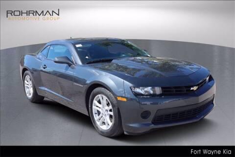 2015 Chevrolet Camaro for sale at BOB ROHRMAN FORT WAYNE TOYOTA in Fort Wayne IN