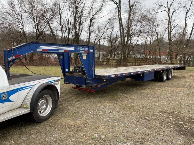 2008 Titan Trailers 3F9442 for sale at ELIZABETH AUTO SALES in Elizabeth PA