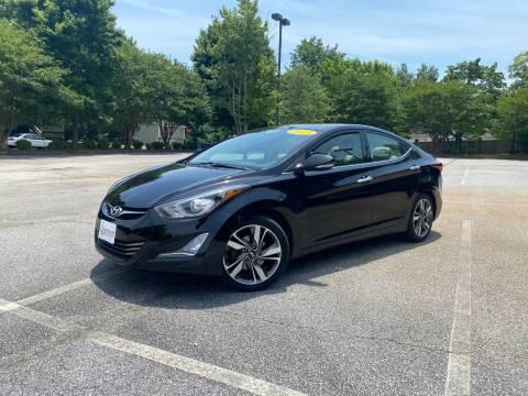 2014 Hyundai Elantra for sale at Uniworld Auto Sales LLC. in Greensboro NC