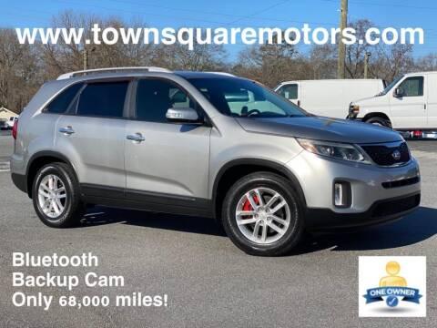 2014 Kia Sorento for sale at Town Square Motors in Lawrenceville GA