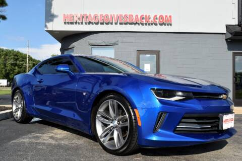 2017 Chevrolet Camaro for sale at Heritage Automotive Sales in Columbus in Columbus IN