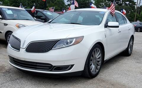 2013 Lincoln MKS for sale at Rivera Auto Group in Spring TX