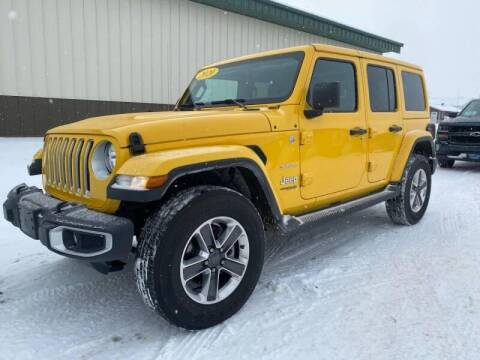2020 Jeep Wrangler Unlimited for sale at Platinum Car Brokers in Spearfish SD