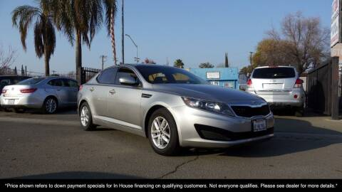 2011 Kia Optima for sale at Westland Auto Sales on 7th in Fresno CA