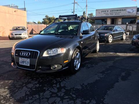 2008 Audi A4 for sale at Joe's Automobile in Vallejo CA