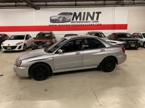 2004 Subaru Impreza for sale at MINT MOTORWORKS in Addison IL