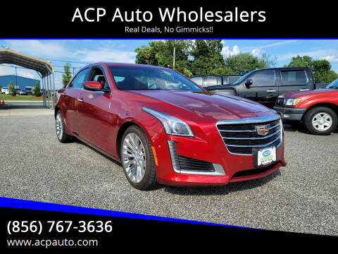 2015 Cadillac CTS for sale at ACP Auto Wholesalers in Berlin NJ