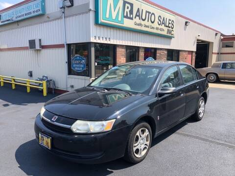 2004 Saturn Ion for sale at MR Auto Sales Inc. in Eastlake OH