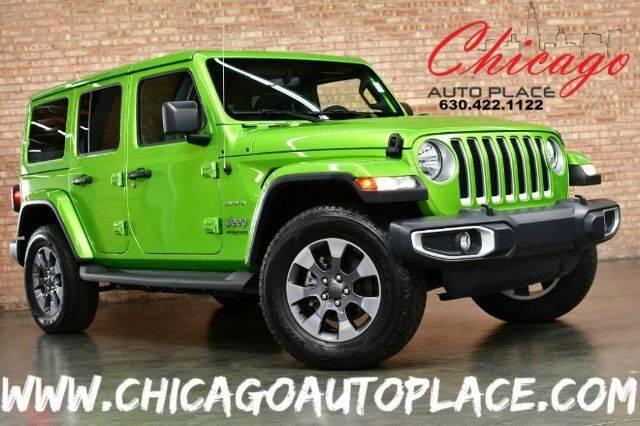 2019 Jeep Wrangler Unlimited 4x4 Sahara 4dr SUV - Bensenville IL