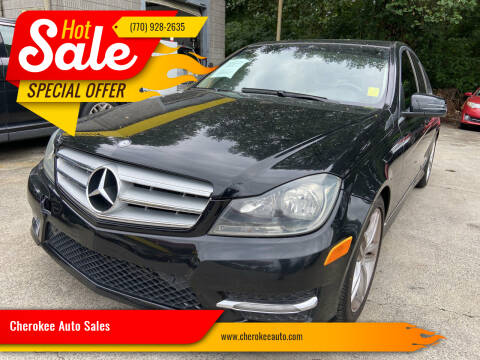 2013 Mercedes-Benz C-Class for sale at Cherokee Auto Sales in Acworth GA