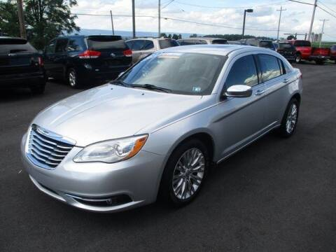 2012 Chrysler 200 for sale at FINAL DRIVE AUTO SALES INC in Shippensburg PA