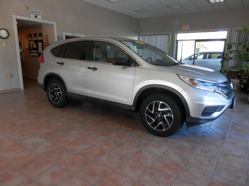 2016 Honda CR-V for sale at ABSOLUTE AUTO CENTER in Berlin CT