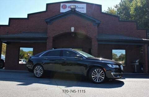 2017 Lincoln MKZ for sale at Atlanta Auto Brokers in Cartersville GA