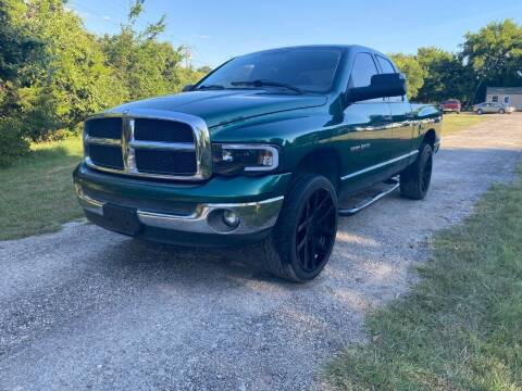 2003 Dodge Ram Pickup 1500 for sale at The Car Shed in Burleson TX
