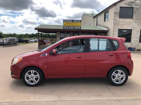 2009 Chevrolet Aveo for sale at Driver's Choice in Sherman TX