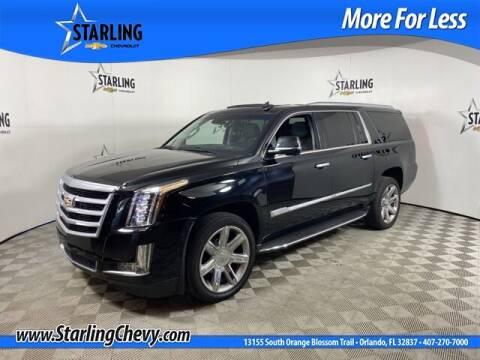 2018 Cadillac Escalade ESV for sale at Pedro @ Starling Chevrolet in Orlando FL