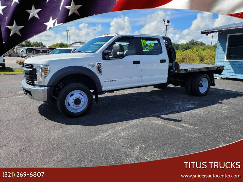 2019 Ford F-450 Super Duty for sale at Titus Trucks in Titusville FL