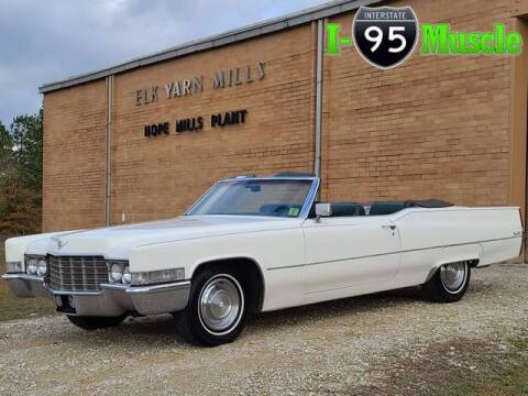 1969 Cadillac DeVille for sale at I-95 Muscle in Hope Mills NC