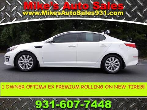 2015 Kia Optima for sale at Mike's Auto Sales in Shelbyville TN