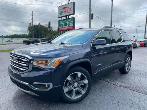 2018 GMC Acadia for sale at Lux Auto in Lawrenceville GA